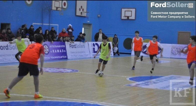 В Челнах стартовала Школьная футбольная лига