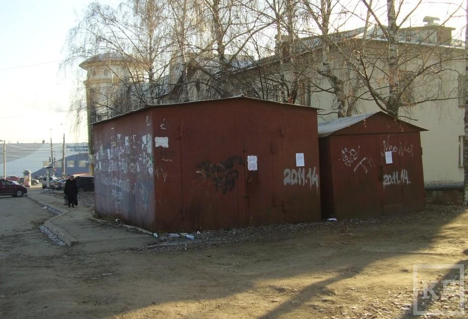 Власти Казани приготовились сносить незаконные киоски, заборы и гаражи