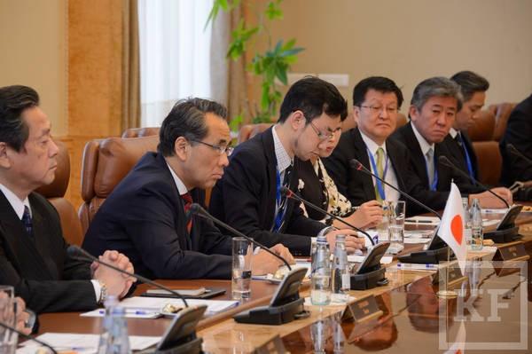 Минниханов: Татарстан поддержит все инициативы японских коллег
