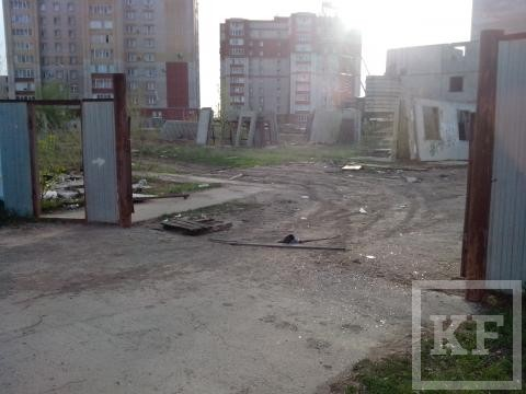 В Нижнекамске дети играют на опасной стройке — «Народный контроль»