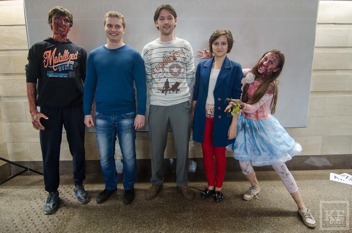 Как зомби казанскую подземку захватили