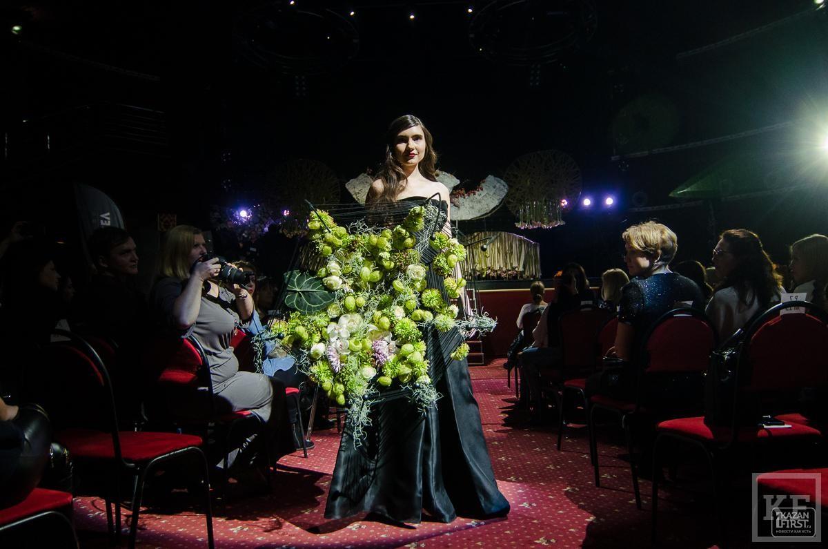 Флорист Мадонны устроил в Казани цветочное шоу
