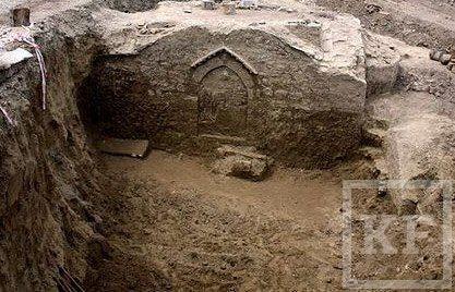 В Сочи дорожные рабочие откопали византийский храм XIV века