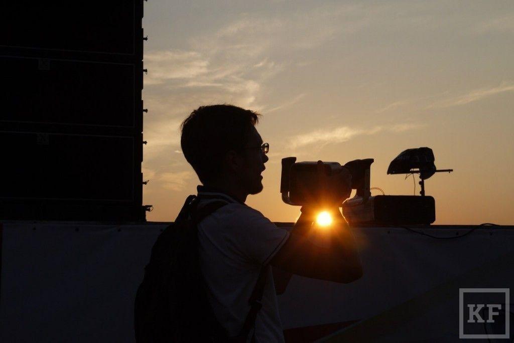 Первые фотографии с Дня молодежи в Набережных Челнах