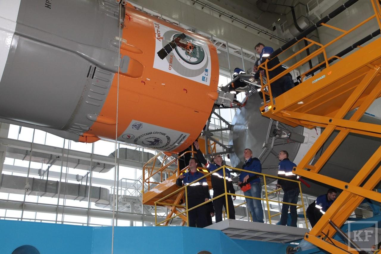 На космодроме Восточный собрали и готовят к вывозу ракету «Союз-2.1а»