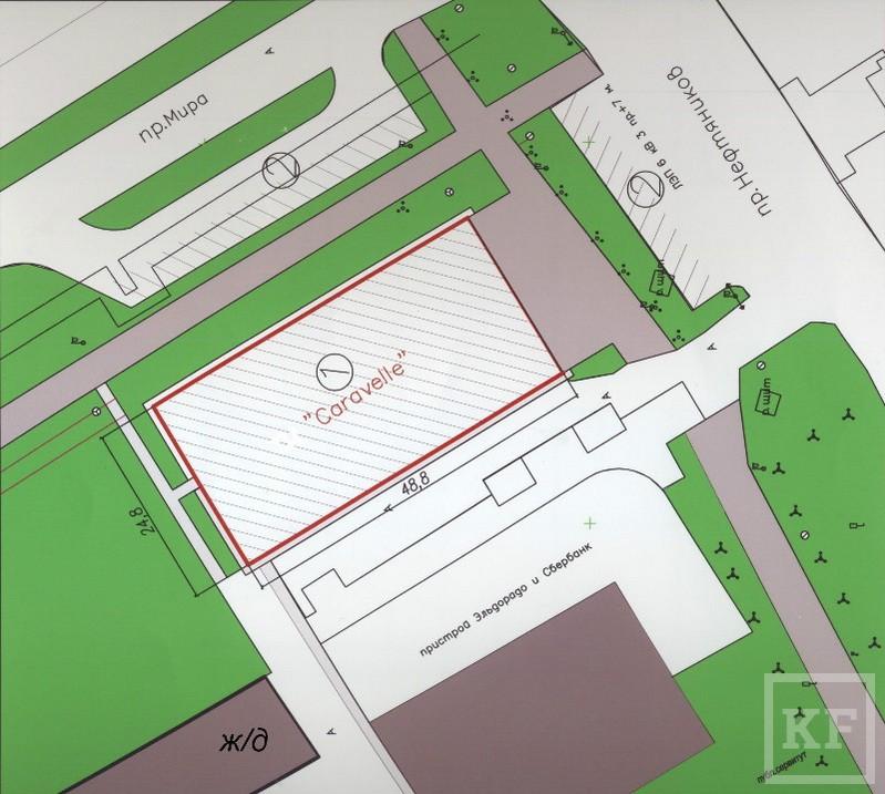 Компания «Каравелла» все-таки получила разрешение на строительство на месте сквера в Елабуге