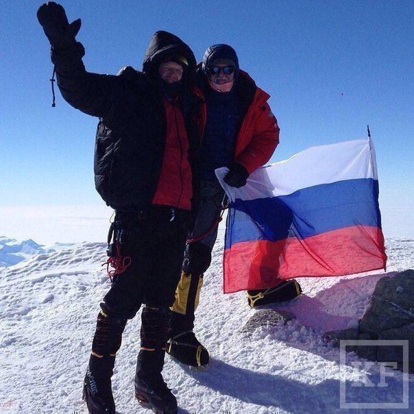 В интернете появились первые снимки депутата Госдумы от Татарстана Сидякина в Антарктиде
