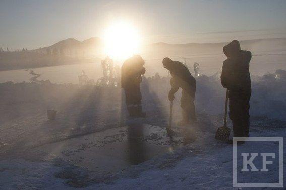Исследователи из Татарстана погрузились на рекордную глубину в озеро Лабынкыр