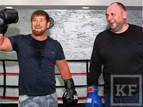 Рамзан Кадыров избил на ринге своего министра по физкультуре