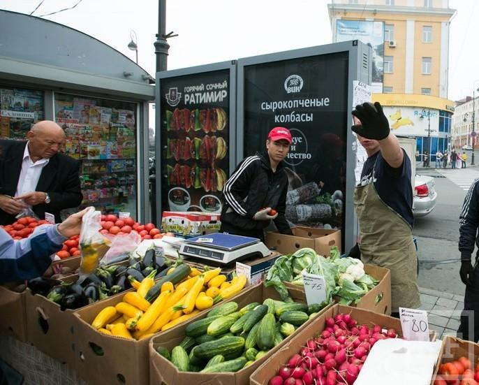 Уличные торговцы овощами начали сбивать цены в магазинах