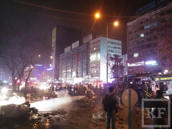 В столице Турции прогремел мощный взрыв, есть жертвы