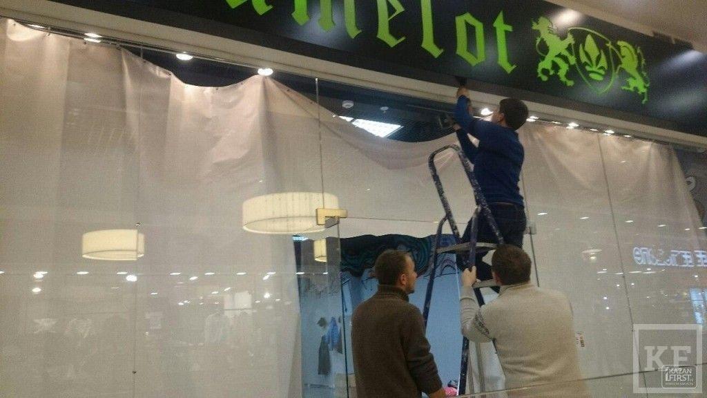 В Набережных Челнах закрывается магазин одежды Camelot