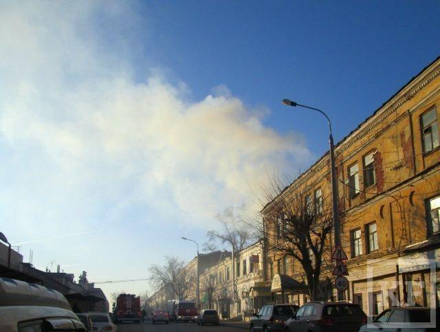 В Казани появились бомжи-поджигатели