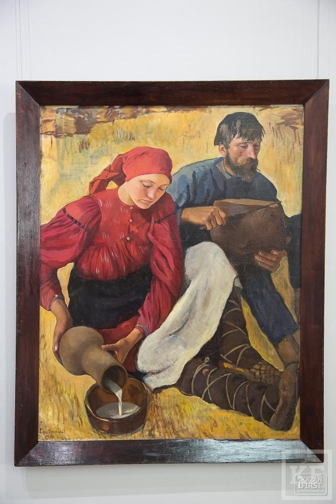 В Казани впервые открылась выставка Зинаиды Серебряковой