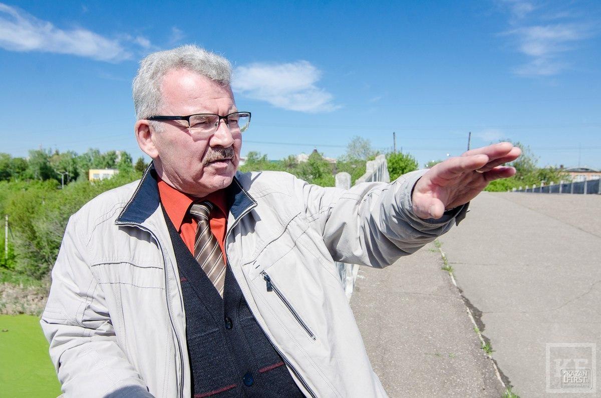 Градозащитники предлагают не сносить Горбатый мост через старое русло Казанки, а восстановить его и создать на нем крытые рестораны