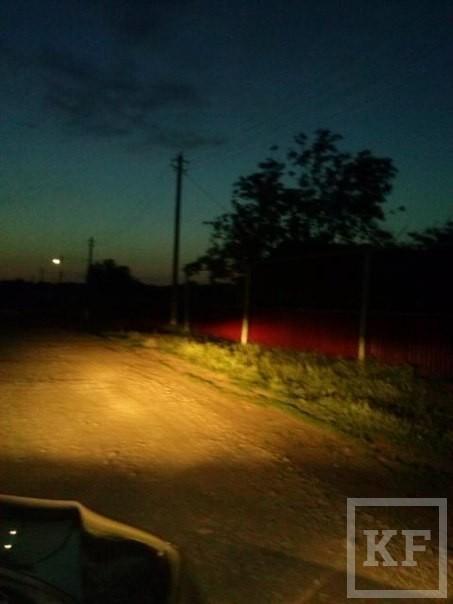 Жительница Азнакаевского района пожаловалась на отсутствие уличного освещения — «Народный контроль»