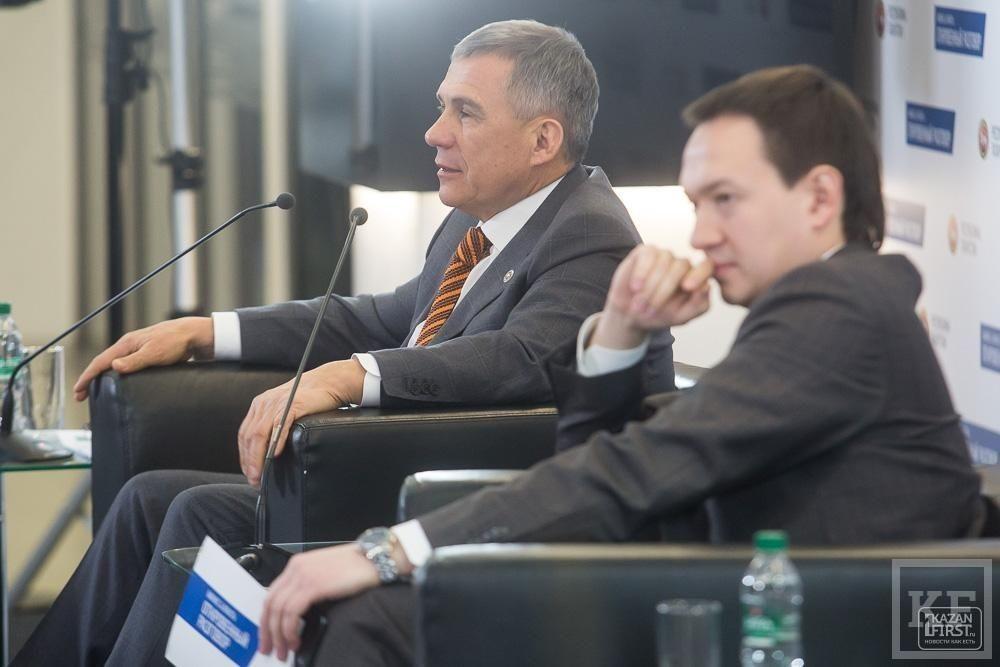 Встреча Рустама Минниханова с предпринимателями в формате «Бизнес и власть: откровенный разговор»