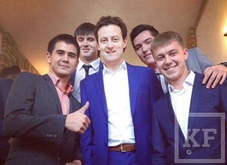 Сын основателя «Вамина» Минтимер Мингазов женился