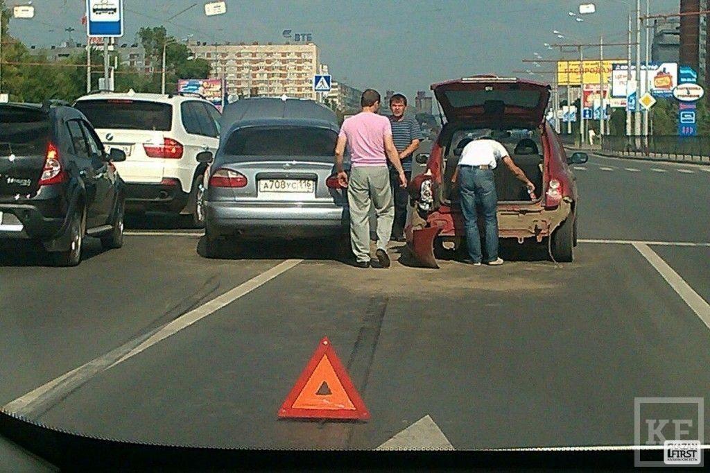 На проспекте Ямашева произошло ДТП