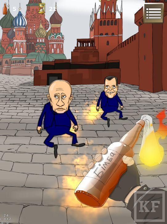 На Android появилась игра про Майдан с захватом Кремля в финале