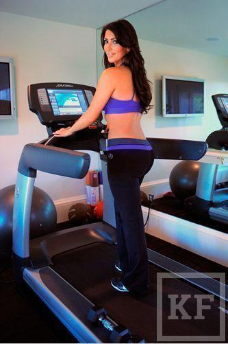 Ким Кардашьян продемонстрировала свою фигуру впервые после родов