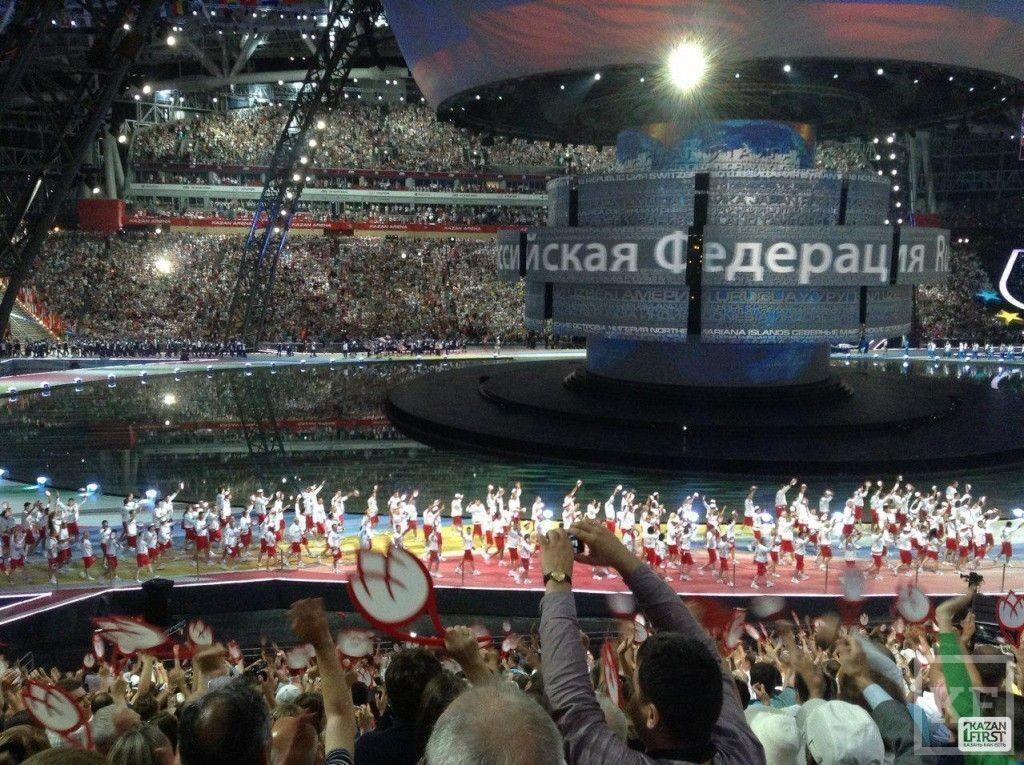 Открытие Универсиады: сборная России закрыла шествие спортсменов на