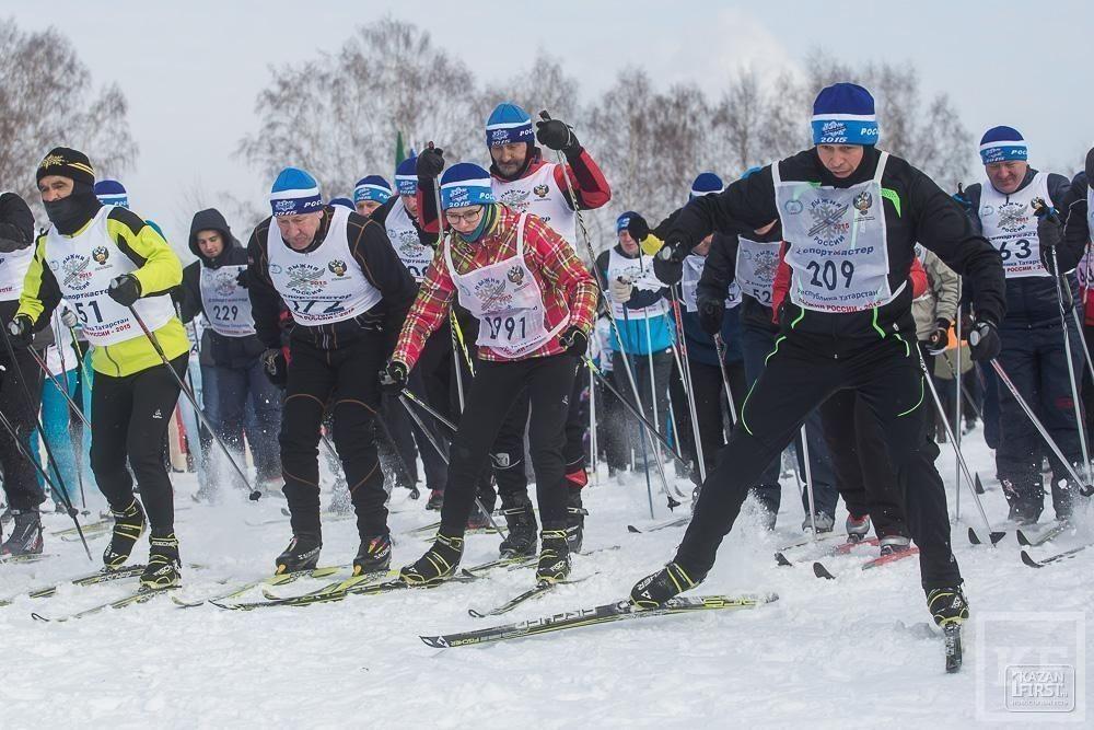«Лыжня России-2015» прошла в Казани