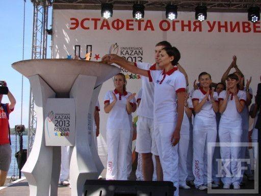 Огонь Универсиады 2013 направляется в Оренбург