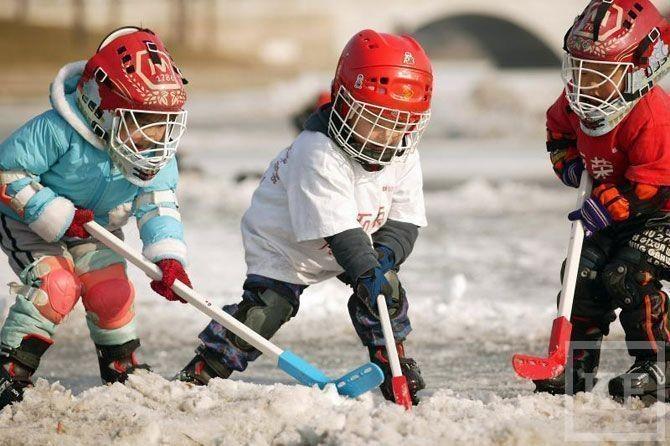 Большой спорт маленькой семьи