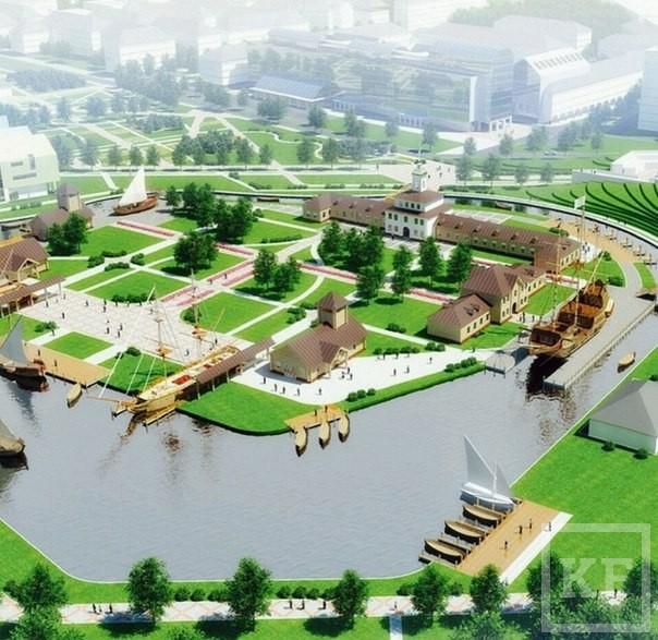 Возрождение Адмиралтейской слободы: к ЧМ по футболу обустроят лишь часть парка