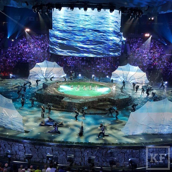 Какой будет церемония открытия Чемпионата мира по водным видам спорта: фото и видео