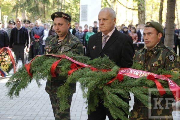 В Бугульме прошел митинг памяти солдат, погибших на Северном Кавказе