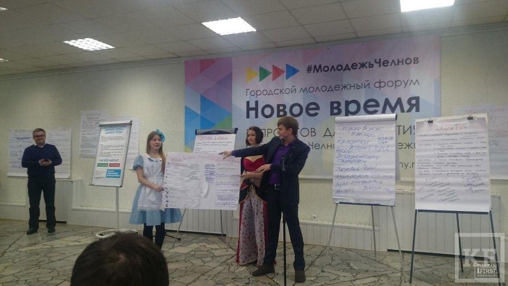 «Мы бы хотели вовлечь вас в процесс управления городом», — глава исполкома Челнов Наиль Магдеев