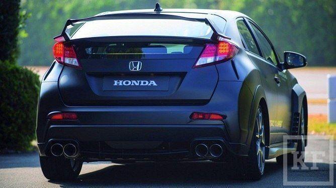 Honda представит миру заряженную версию нового хэтчбека Civic Type R