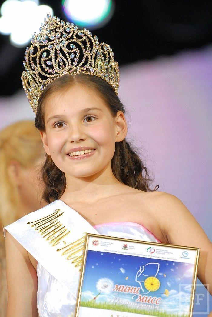 12-летняя жительница Набережных Челнов стала «Мини-мисс Татарстана»