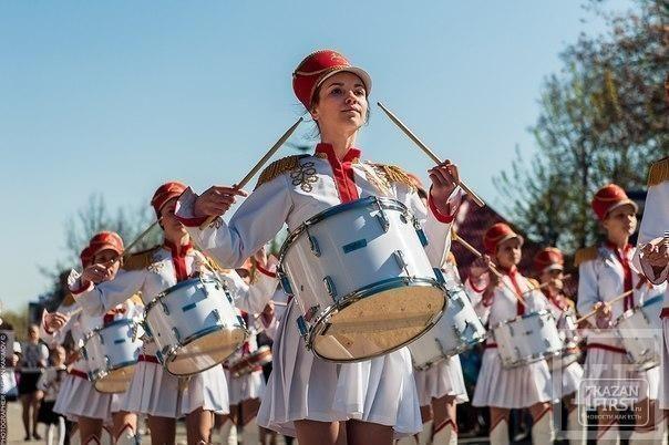 В Лениногорске прошел парад Победы