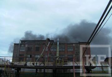 В Казани на пороховом заводе произошел пожар