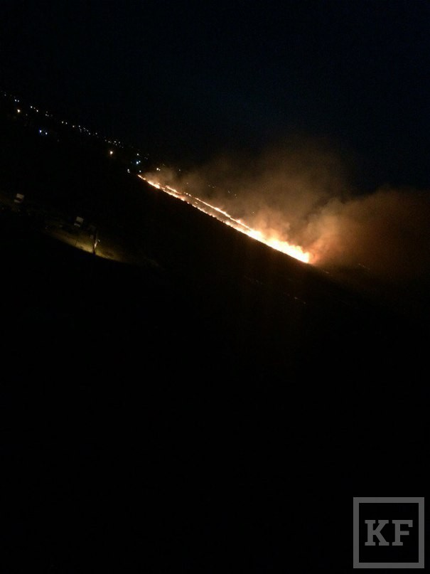 За три дня пожарные выезжали на тушение сухой травы и мусора в Нижнекамске 23 раза