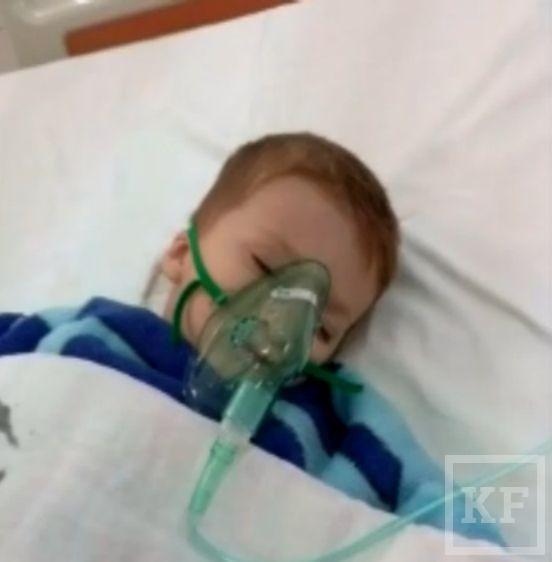Двухлетний мальчик скончался в инфекционной больнице Набережных Челнов