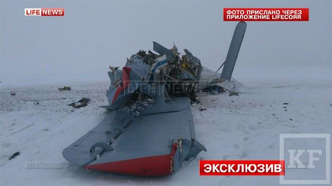 В Оренбургской области разбился самолет Ан-2, находившиеся на борту погибли