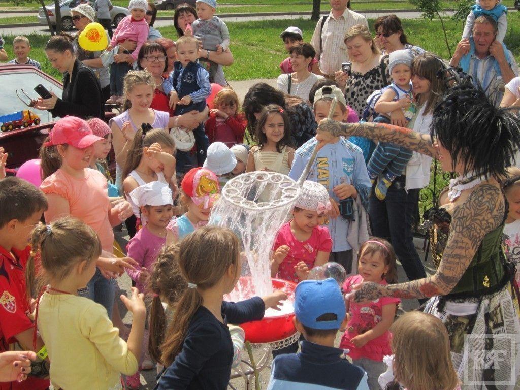В Международный день защиты детей