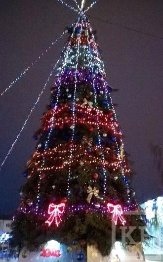 Новогодние елки Татарстана — от Казани до Бавлов