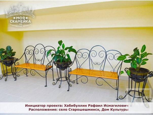 Креатив зашкаливает. 30 необычных скамеек появились в Нижнекамске благодаря бизнесменам, чиновникам и обычным горожанам