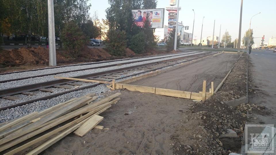 Строительство трамвайной ветки в Набережных Челнах вновь привело к скандалу