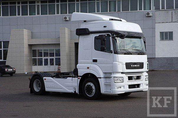 Новейший КАМАЗ получил кабину от Mercedes-Benz
