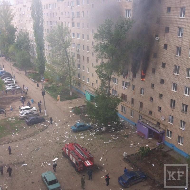 В Саратовской области произошел взрыв газа в многоквартирном доме