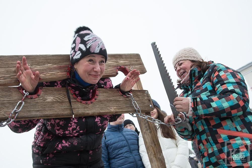 Празднование Масленицы на острове-граде Свияжск
