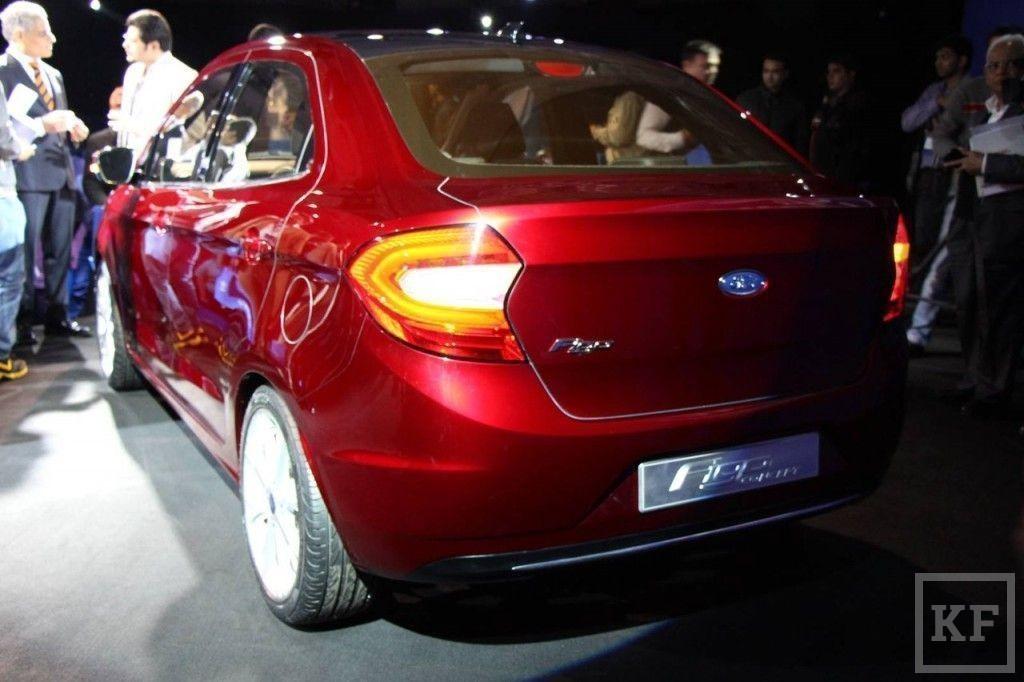 Ford может показать Татарстану Figo?