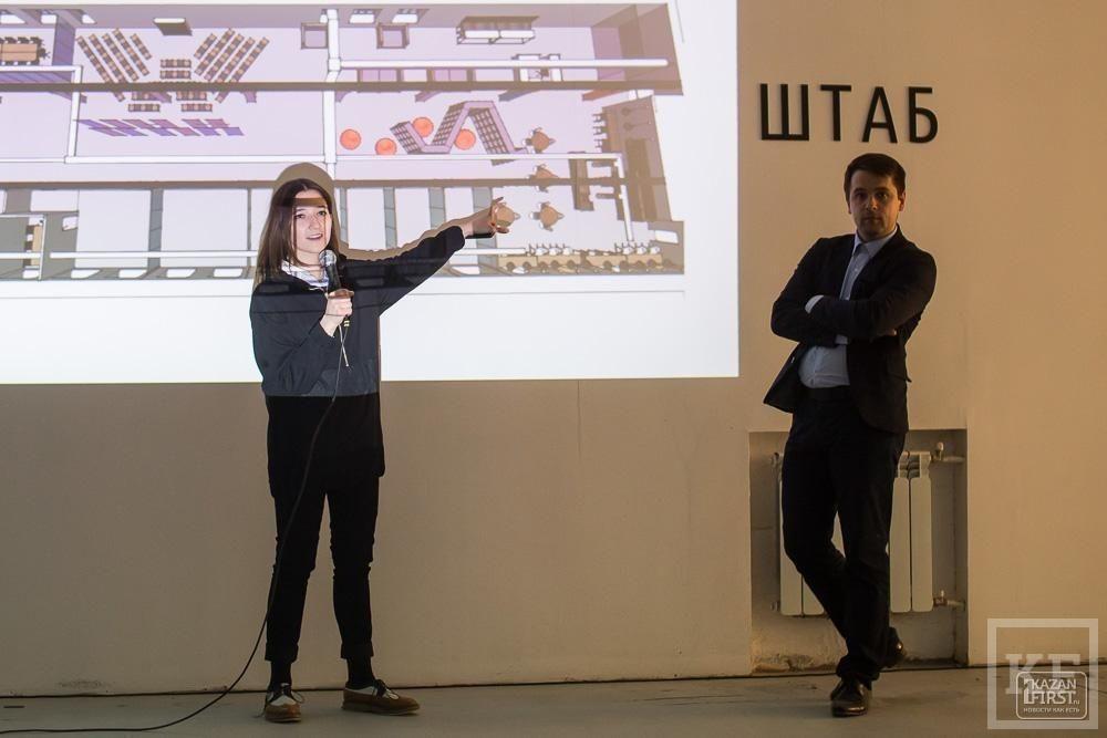 Презентация первой креативной резиденции «Штаб» в Казани