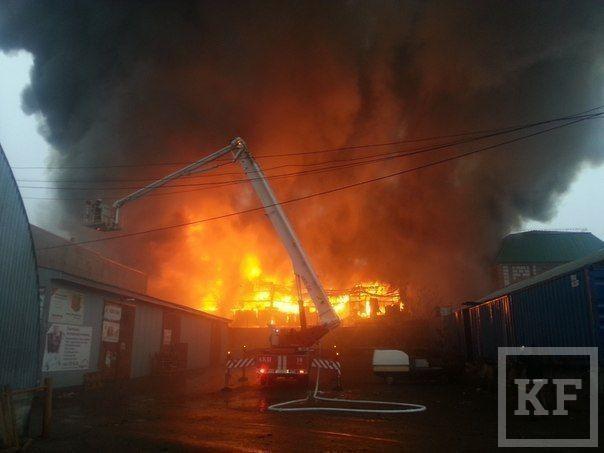 МВД: Пожар на Вьетнамском рынке произошел в результате поджога